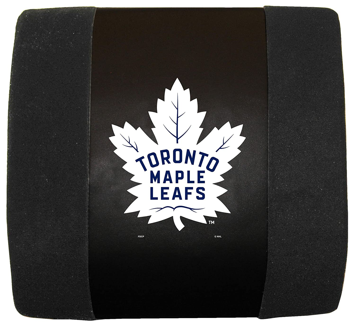 Fremont Die NHL Toronto Maple Leafs Lumbar Support Cushion Black