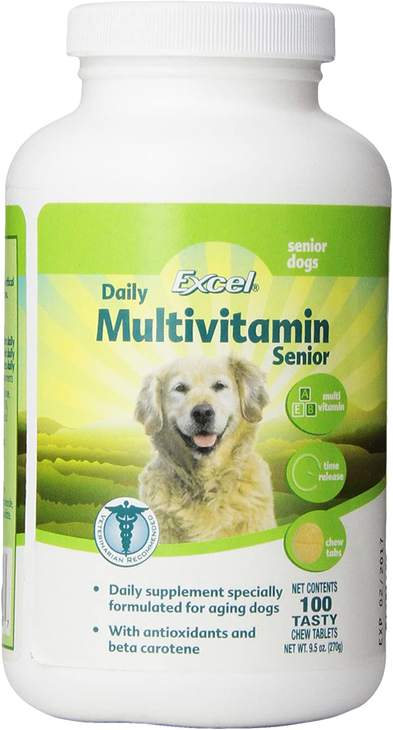 Excel 8-in1 Daily Multivitamin for Seniors