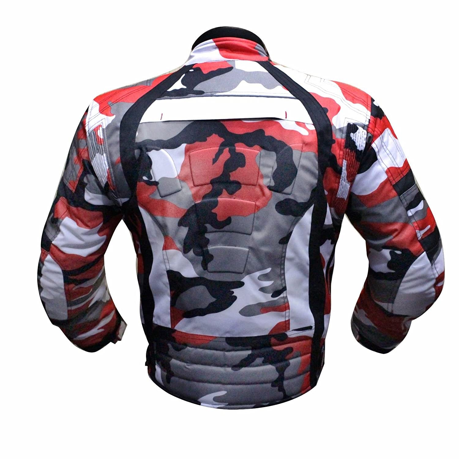 6 Packs Design Most Popular Black /& Full Black, Large JKT-007 Waterproof Motorbike Motorcycle Jacket in Cordura Fabric and CE Approved Armour