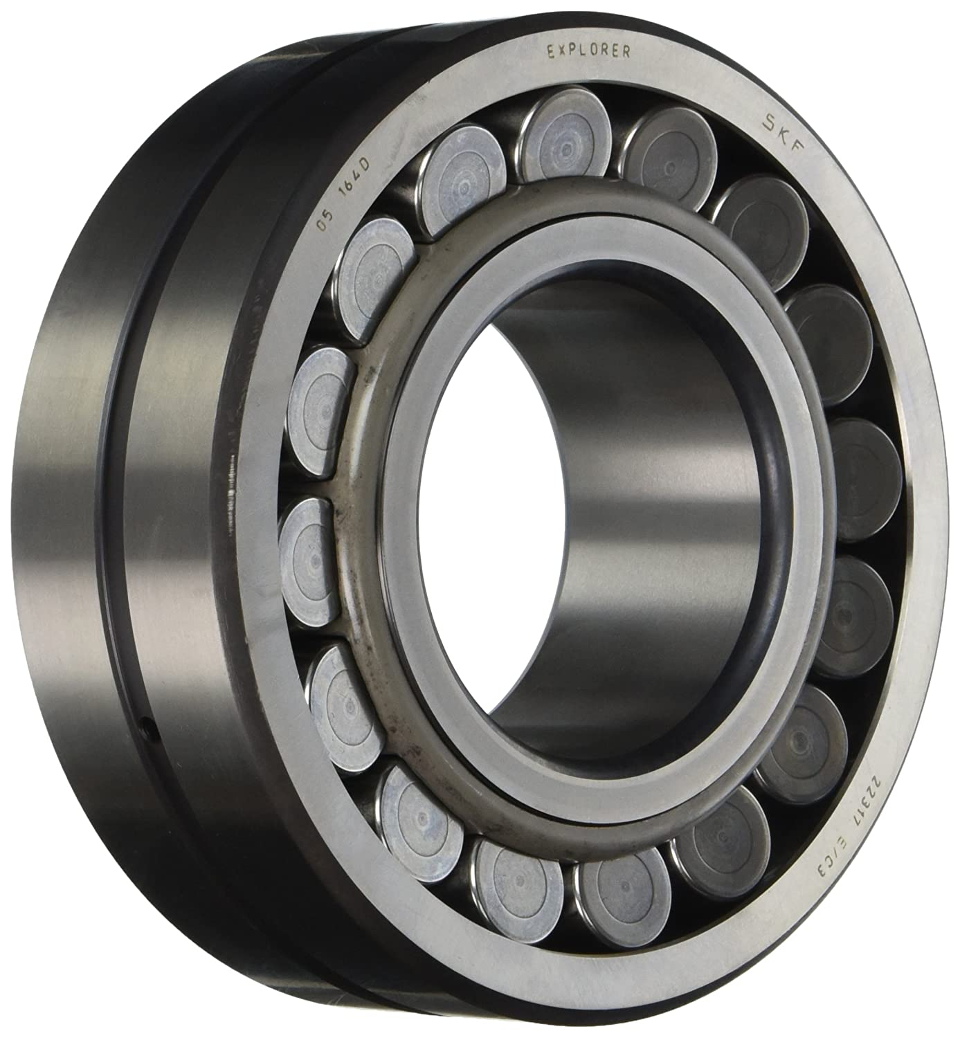 C3 Clearance 55mm Bore Steel Cage 29mm Width SKF 21311 E//C3 Spherical Radial Bearing 120mm OD Straight Bore