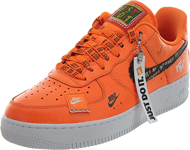 Perenne Esperanzado Ineficiente  Nike Herren Air Force 1 '07 PRM JDI Fitnessschuhe, Orange: Amazon.de:  Schuhe & Handtaschen