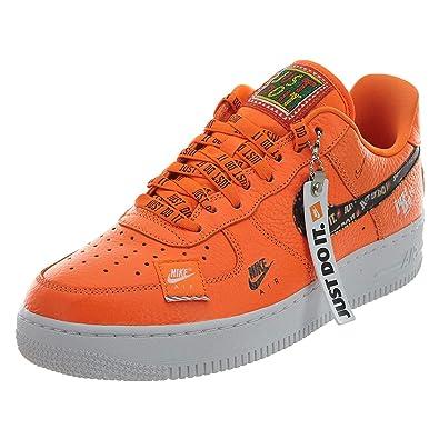 33f6c6ed1443 Nike Men s Air Force 1  07 PRM JDI Fitness Shoes Orange  Amazon.co ...
