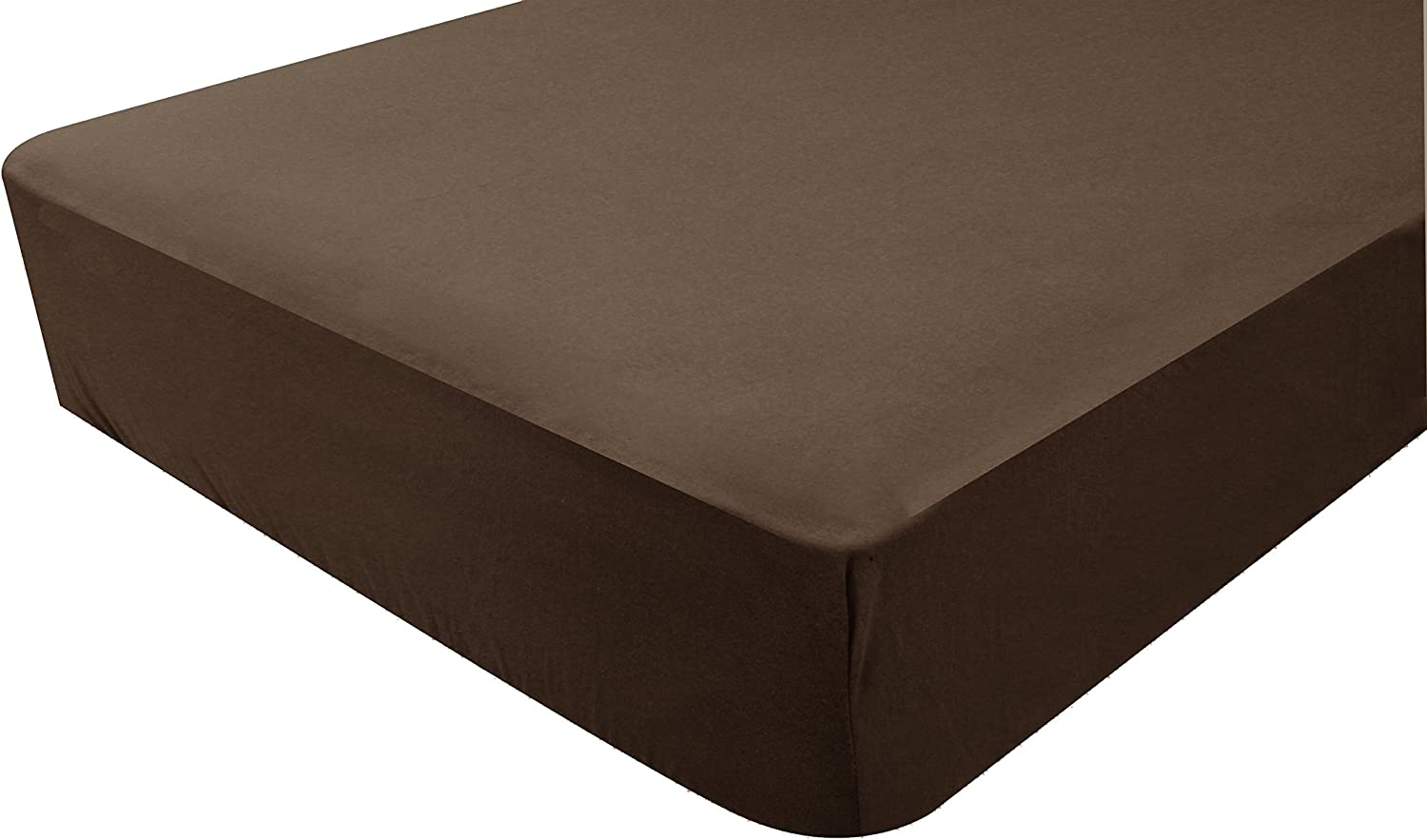 Poyetmotte Fitted Sheet One Size Chocolate 70 x 140 cm