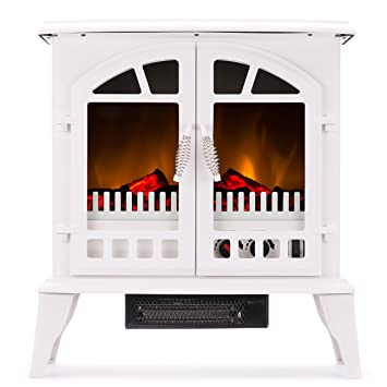 Amazon.com: Jasper Free Standing Electric Fireplace Stove - 25 ...