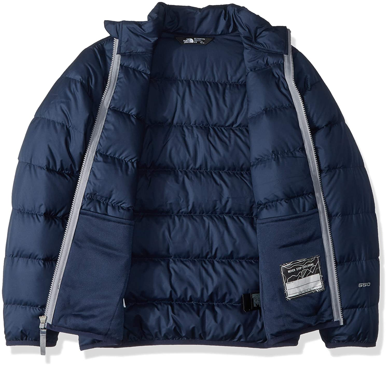 37e43d9f8 The North Face Big Boys' Andes Down Jacket (Sizes 7-20): Amazon.ca: Home &  Kitchen