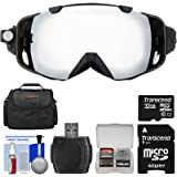 Coleman VisionHD G9HD-SKI 1080p HD Action Video Camera Camcorder Waterproof POV Snow and Ski Goggles with 32GB Card + Case + Reader + Kit