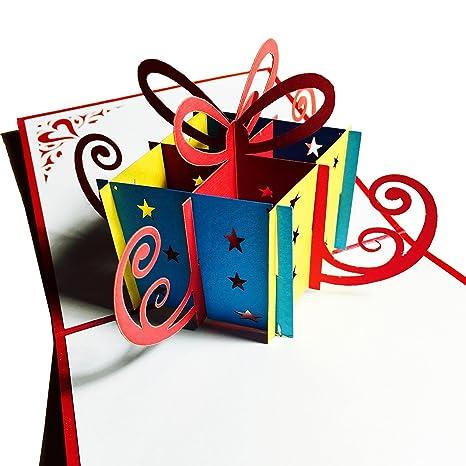 Amazon.com: Tarjetas de cumpleaños Pop Up Cards – Tarjetas ...