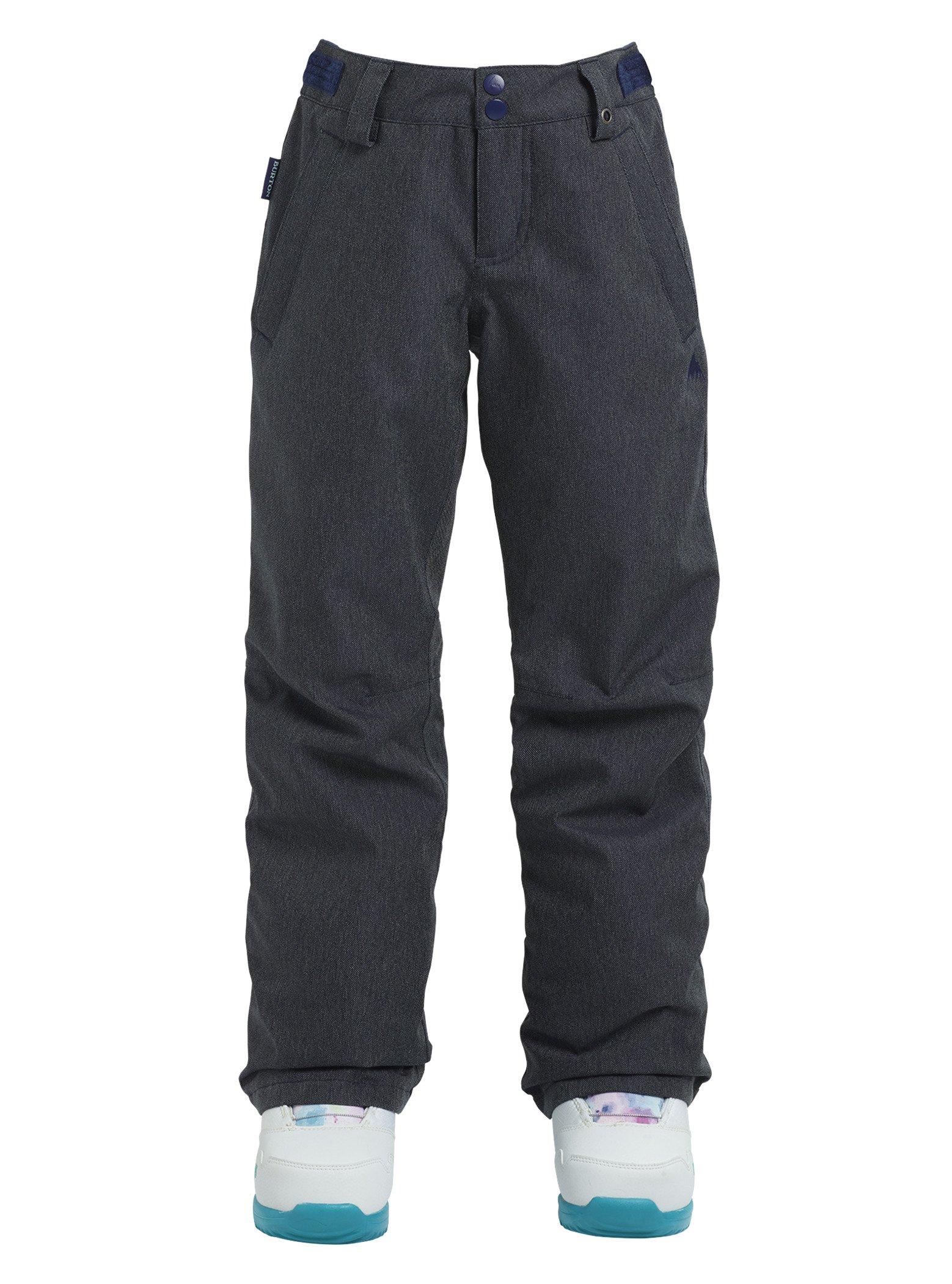 Burton Kids Girls Sweetart Snow Pants Denim Size Small