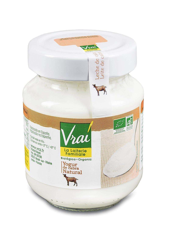 Vrai Yogur de Cabra Natural Bio - 250 gr: Amazon.es: Alimentación y bebidas