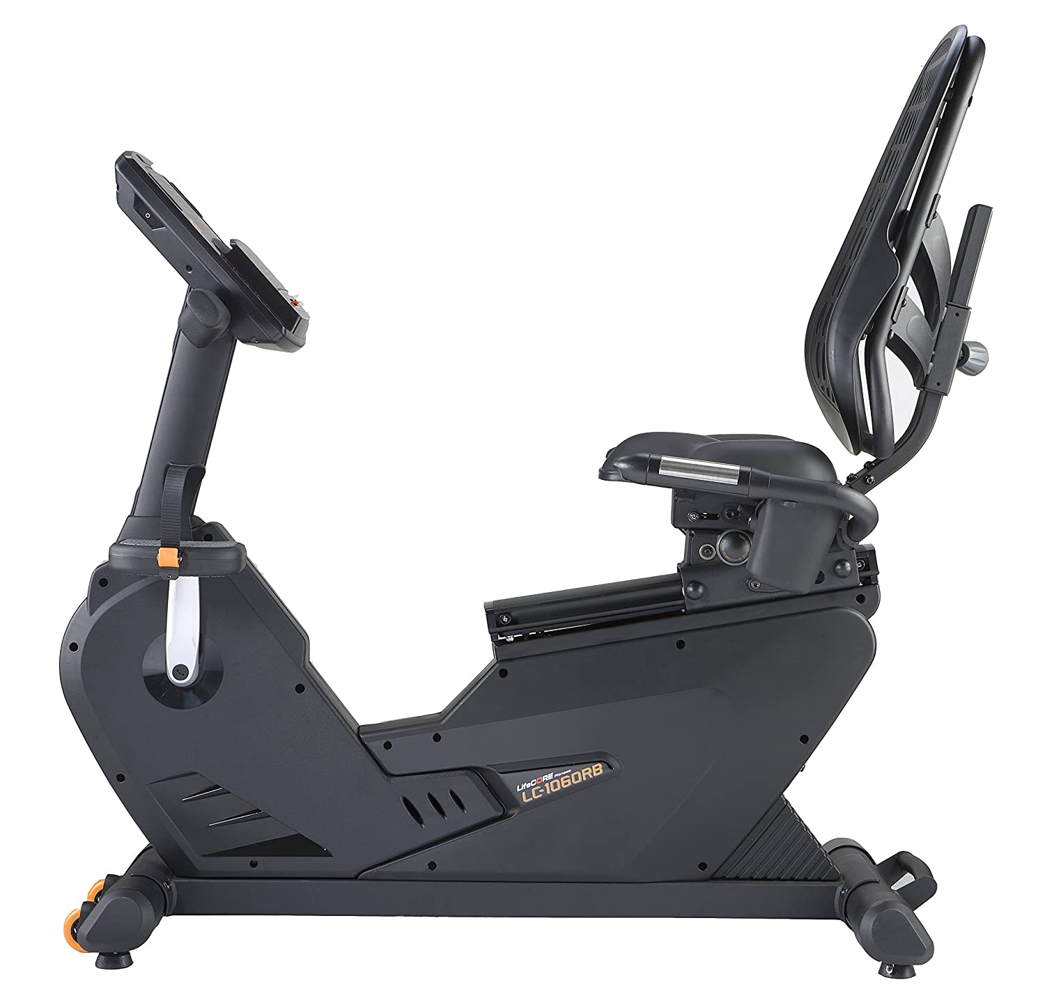Lifecore Fitness 1060rb Recumbent Exercise Bike Black Nordictrack Motor Wiring Harness Frame Sports Outdoors