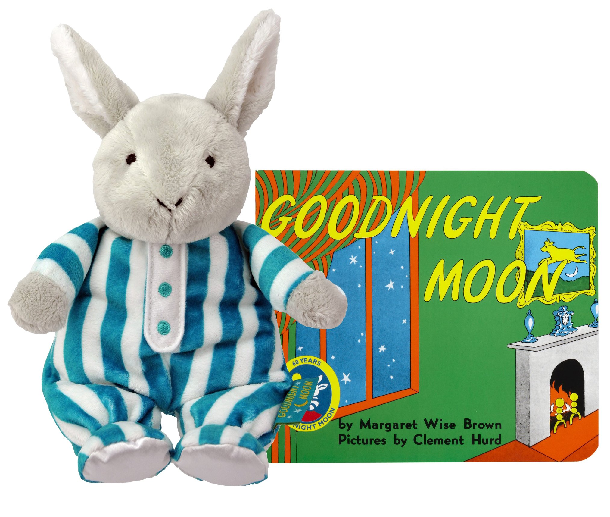 Good Night Moon Cuddle Bunny with Board Book
