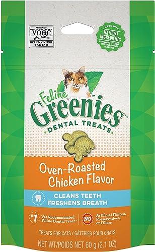 Greenies Feline Natural Dental Care Cat Treats 2.1-2.5 oz