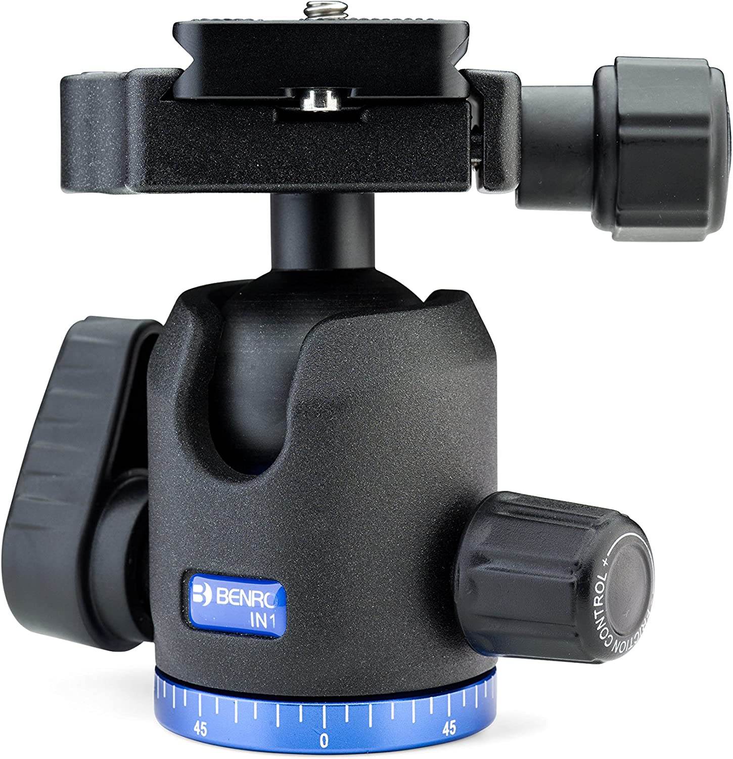 Benro Double Action Ball Head W Pu60 Quick Release Plate In1