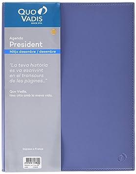 Quo Vadis President - Agenda 2019, catalán, diseño Soho ...