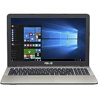 Asus VivoBook Notebook, 15.6 pollici HD LED, Processore Intel Celeron N3350, RAM 4 GB, Hard Disk 500GB, FreeDos, Nero [Layout Italiano]