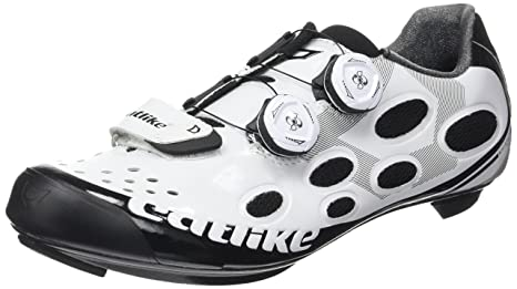 Catlike Whisper Road 2016, Zapatillas de Ciclismo de Carretera Unisex Adulto, (Blanco/