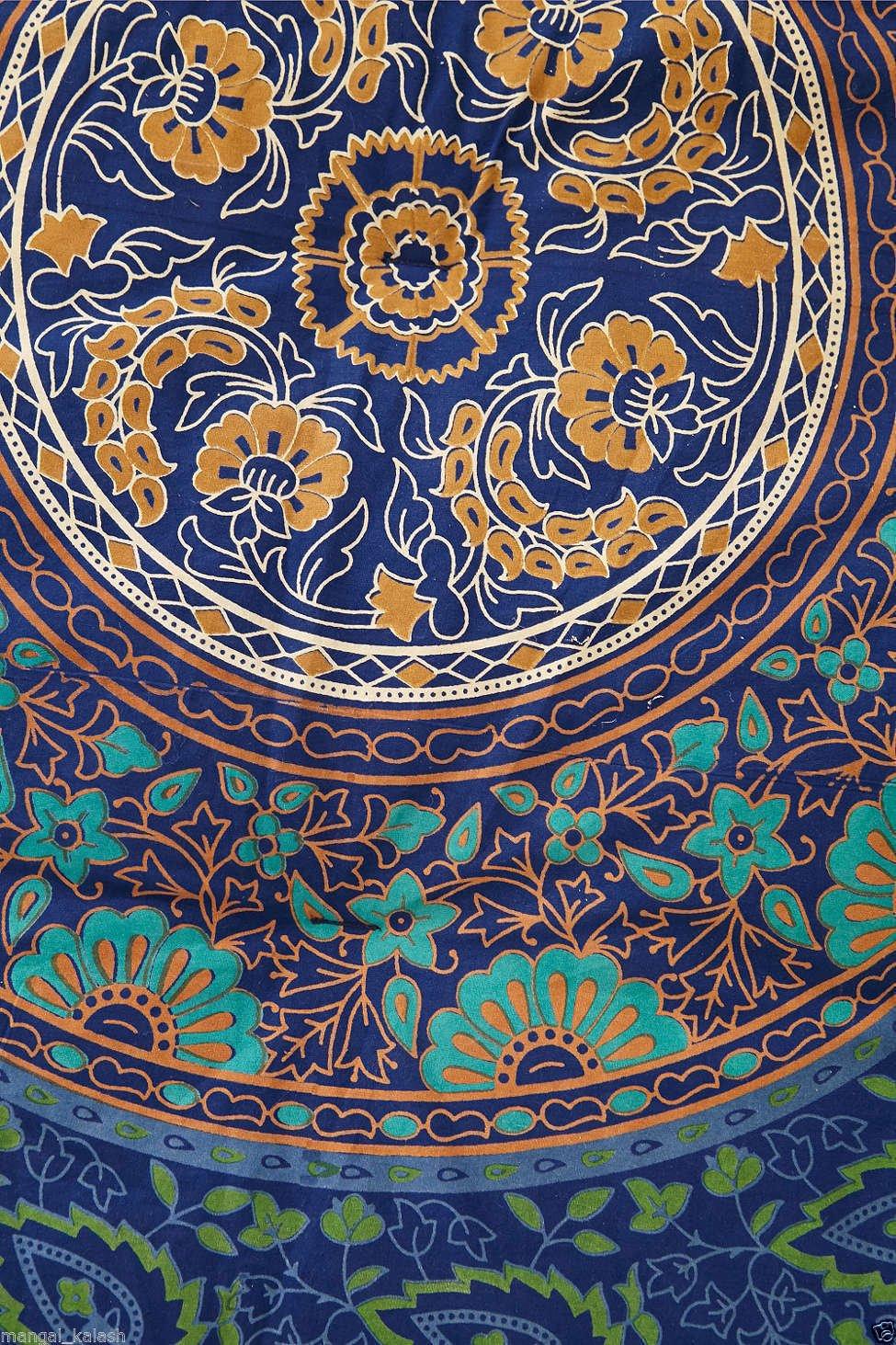 Amazon.com: Marusthali Mandala Comforter Double Bedding ...