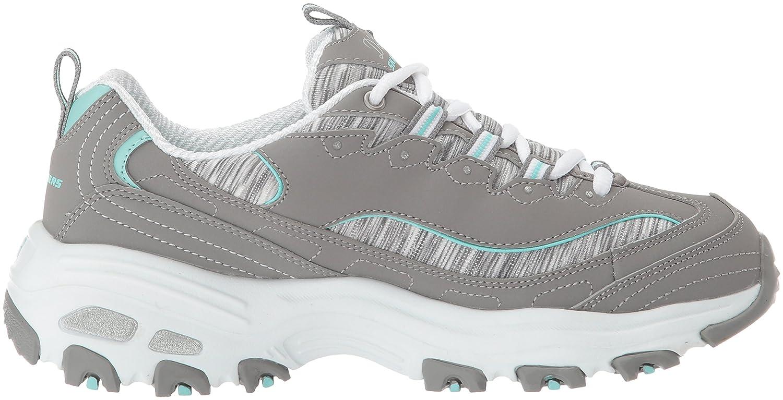 Skechers Women's DLites Interlude Sneaker B074FNBQ3T 10 B(M) US|Gray Mint