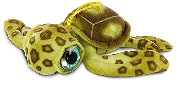 Peluche Tortuga Marina 28cm Ojos grandes Coleccionables - calidad super soft - (Amarilla)