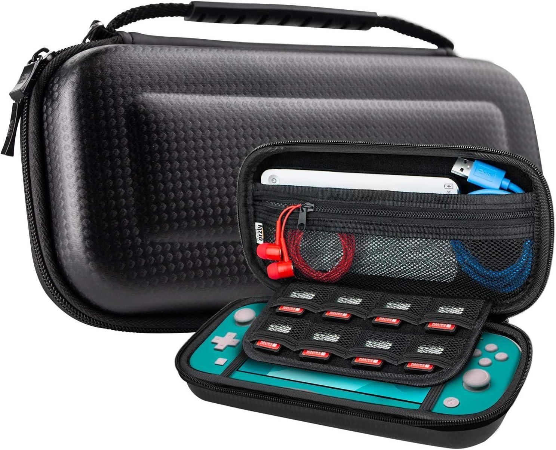 Funda para Nintendo Switch Lite – Estuche Protector rigida, para Llevar Nueva Switch Lite Consola (2019) y Sus Juegos y Accesorios: Amazon.es: Electrónica