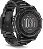 Garmin Fenix 3 HR GPS Multisport and Outdoor Watch with Dlc Band/Sapphire Lens/Wrist Heart Rate - Titanium