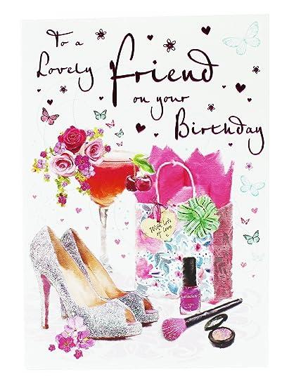 Tarjeta de felicitación de cumpleaños para amiga, Hallmark ...