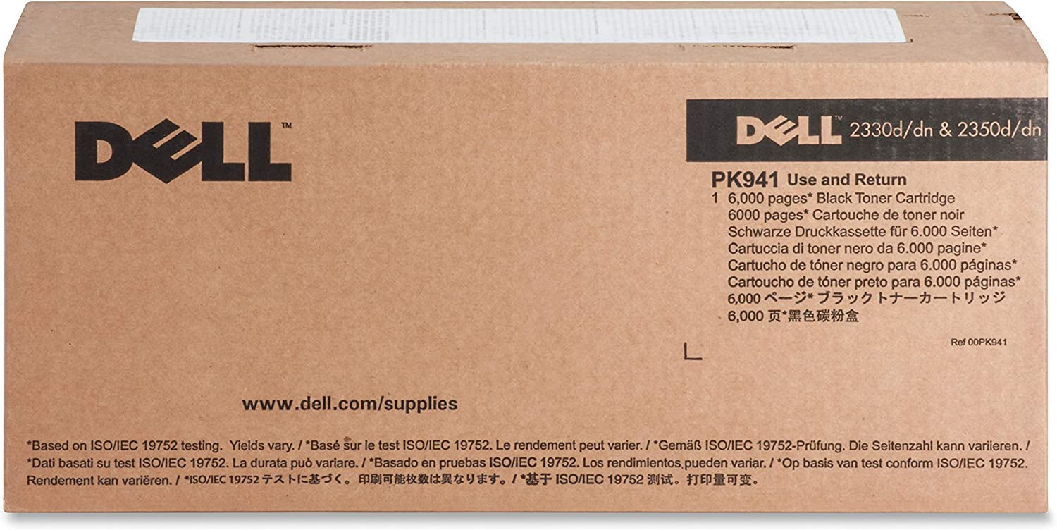 Dell Toner Cartridge, Black (PK941)