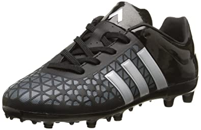 adidas Ace15.3 Terrain, Football garçon, Noir (Core Black