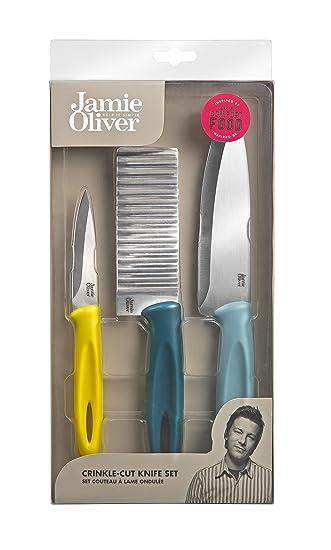Jamie Oliver Messerset - Wellenschliff - 3er Set ...