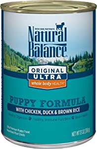 Natural Balance Original Ultra Whole Body Health Wet Puppy Food, Chicken, Duck & Brown Rice