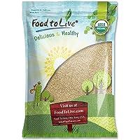 Food to Live Semillas de sésamo Bio certificadas