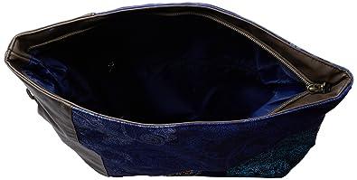 Desigual Sac bandoulière BOLS_IBIZA VIVEN LOVE 2, – Blu (Blau (royal 5010)), 37X50385010U