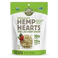 Deals on Manitoba Harvest Organic Hemp Hearts Raw Shelled Hemp Seeds 12oz