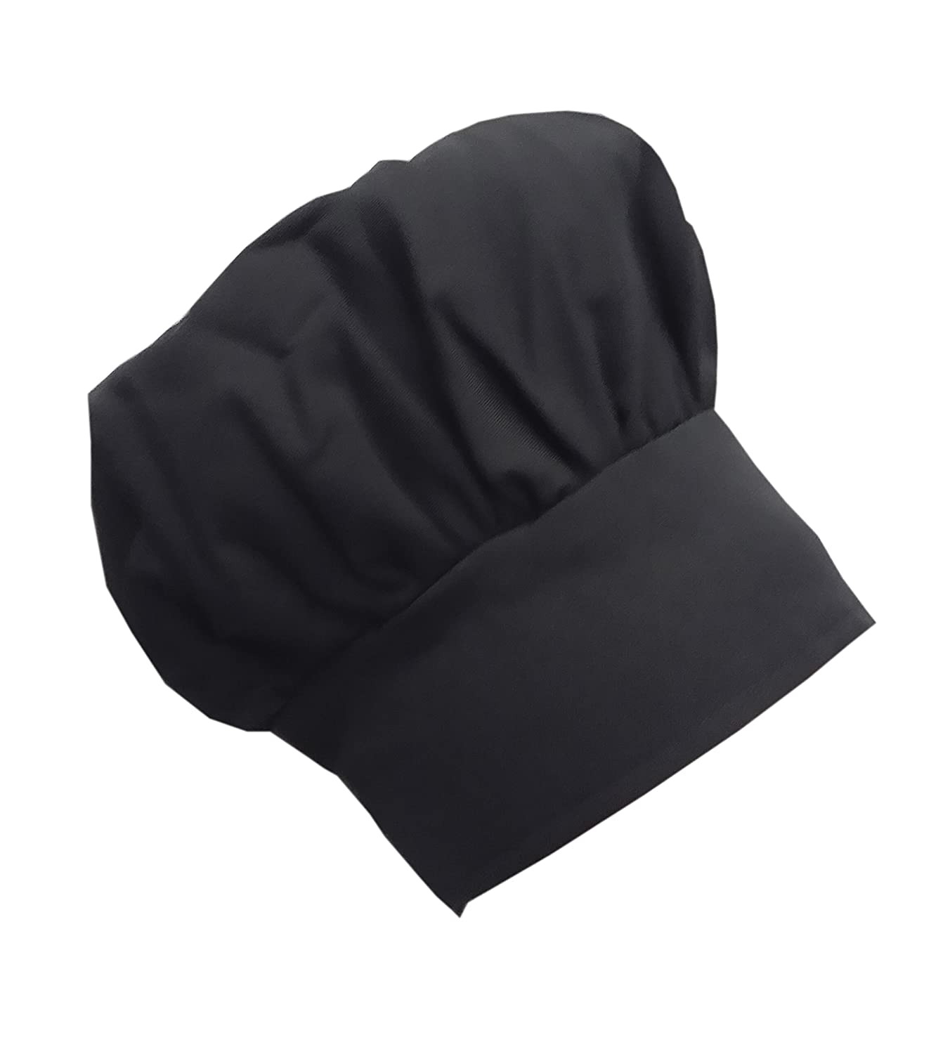 Chefskin Chef Mushroom Hat Kids Children Black Adjustable Velcro CHEFSKIN MUSHROOM HAT