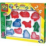 SES Creative - Cortadores de pasta para jugar, multicolor (00884)