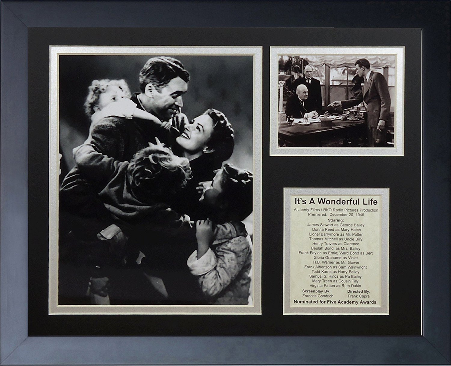 Legends Never Die It's A Wonderful Life Framed Photo Collage, 11 by 14-Inch 16143U
