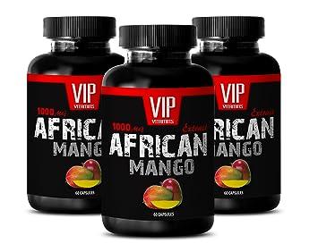 Libido booster for men sex - AFRICAN MANGO EXTRACT 1000MG - Mango supplement - 3 Bottle