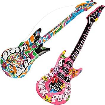 com-four® Las Guitarras inflables 2X en el Estilo Hippie se Ven ...