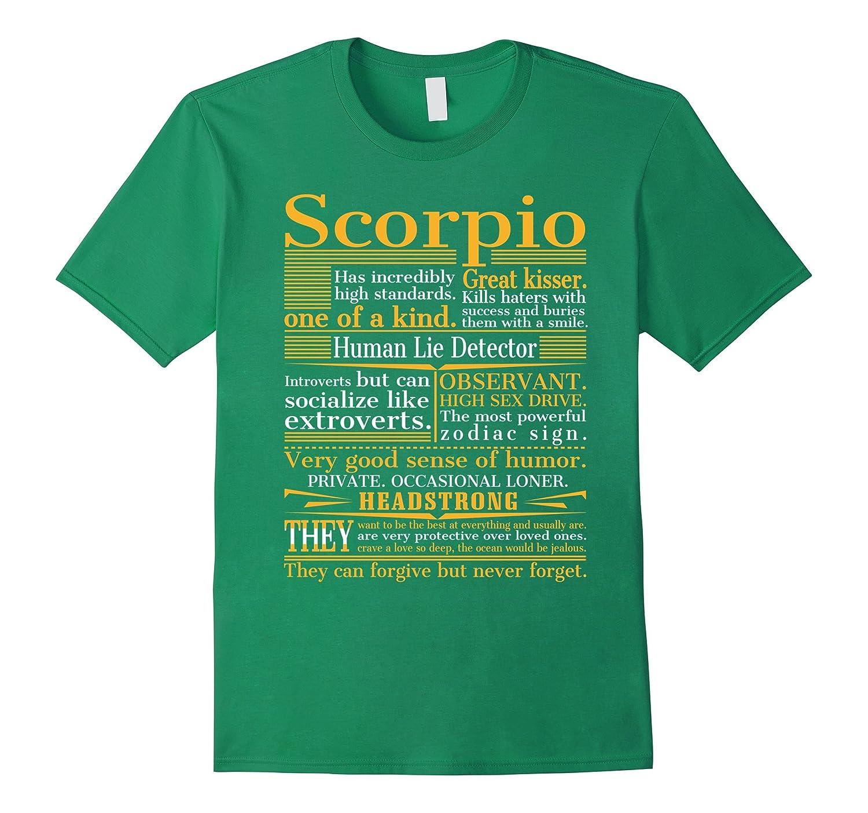 Great Scorpio T-shirt-FL