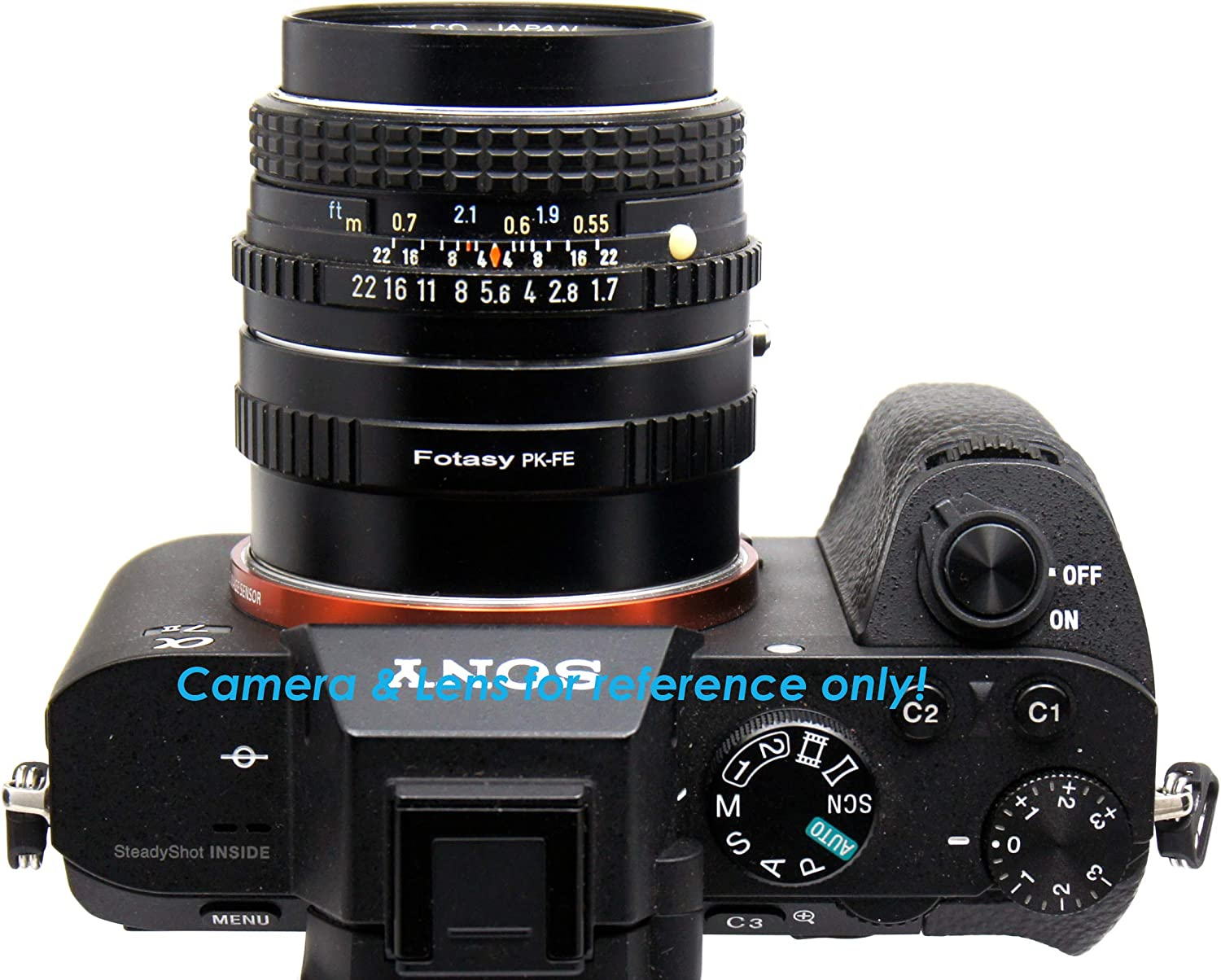 42mm Screw Mount Lens to E Mount Fotasy Copper Adjustable M42 Lens to Sony FE Adapter fits Sony a7 a7 II a7 III a7R a7R II a7R III a7S a7S II a7S III a9 a7R IV a6600 a6500 a6400 a6300 a6100 a6000