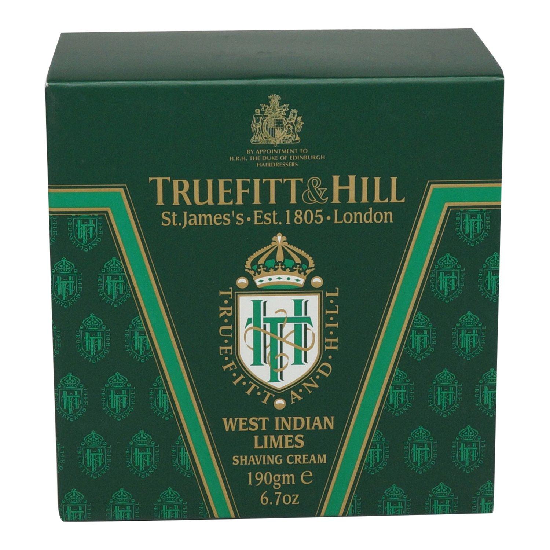 West Indian Limes Shaving Cream - 190g/6.7oz Truefitt & Hill 24
