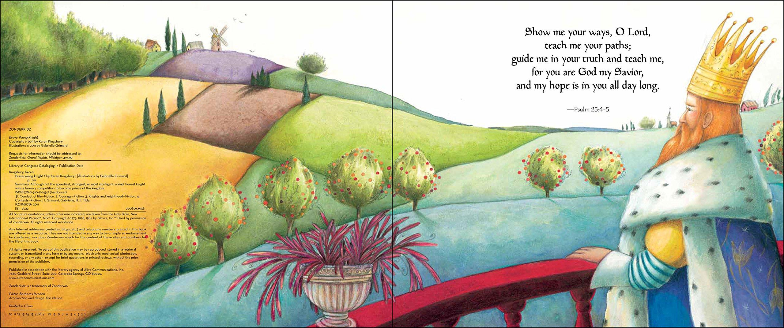 Amazon: Brave Young Knight (0025986716455): Karen Kingsbury, Gabrielle  Grimard: Books