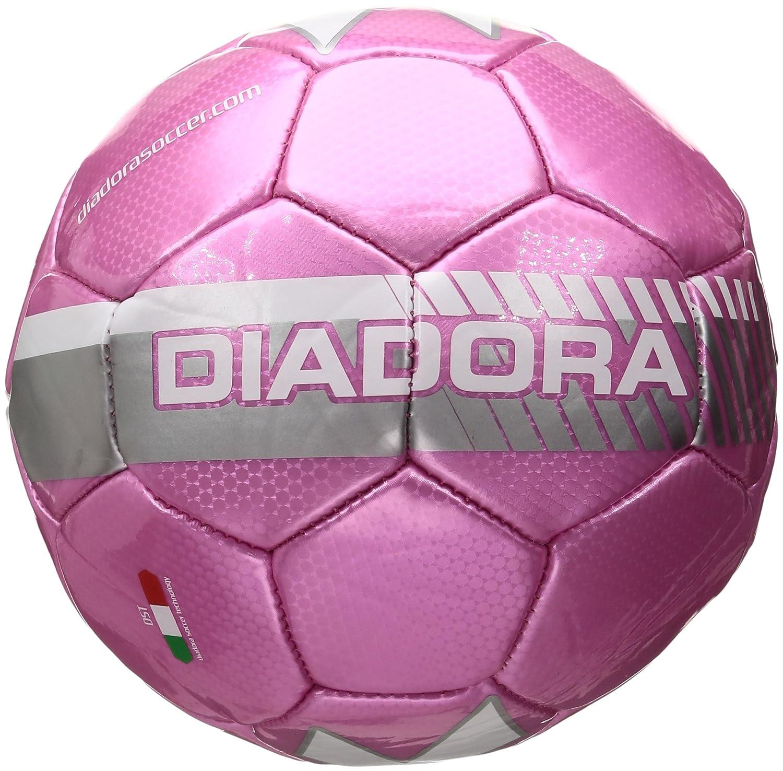 Diadora サッカーボール フルミネイト B00HH88KRS Size 5|ピンク ピンク Size 5
