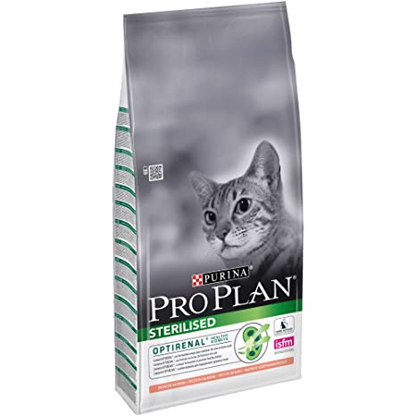 Purina ProPlan pienso para Gato Esterilizado Salmon 10 Kg