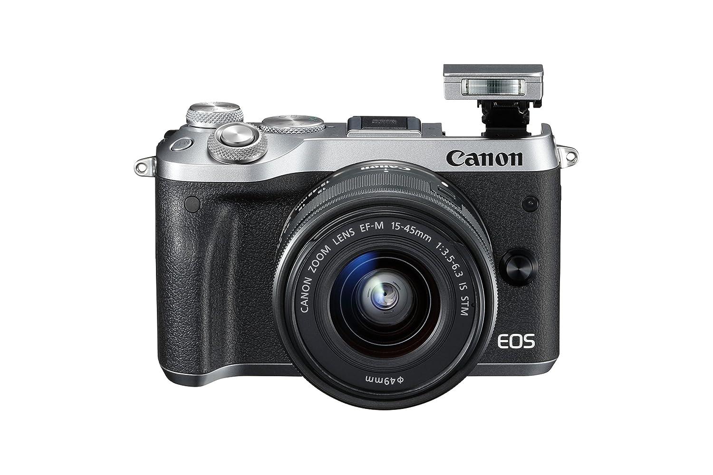 Canon Eos M6 Mirrorless Camera With Ef M 15 45 Mm Lens M3 Kit M15 45mm Kamera Photo