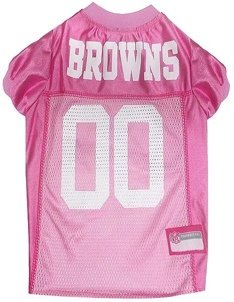 Amazon.com   NFL Cleveland Browns Dog Jersey Pink 98f5f2eba