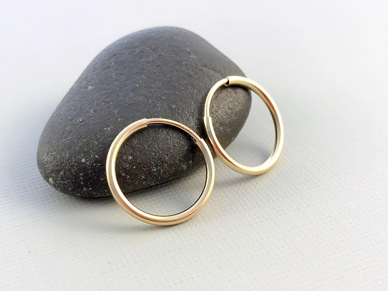 Small 14 K gold filled hoops, Classic gold hoops, Everyday gold earrings, Delicate hoop earrings, Minimalist hoop earrings