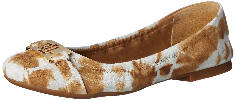Lauren Ralph Lauren Women's Betty Ballet Flat B014S0C5QO 7.5 B(M) US|Toast Tyedye Leather