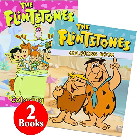 coloring book ~ The Flintstones Coloring Sheets Pages To Print ... | 466x466