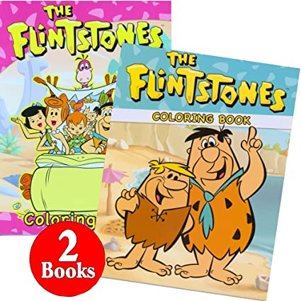 Amazon.com: The Flintstones Coloring and Activity Book Set (2 Books ...